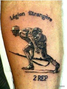 Тату французского легиона