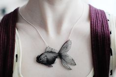 fish necklace from p