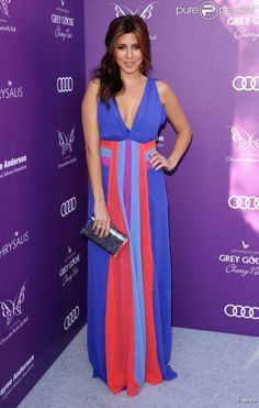 Jamie-Lynn Sigler at the Celebrity Style at the 2012 Chrysalis Butterfly Ball