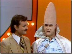 Dan Aykroyd & Bill Murray; the Coneheads on Family Feud.