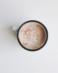 Salted Nutella Latte via The FauxMartha