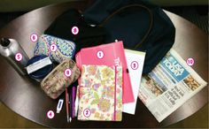 Top 10 tote essentials for the college student
