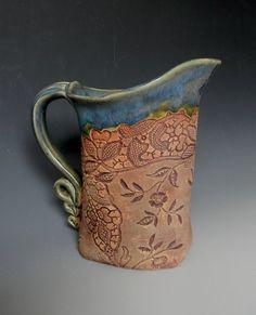 slab pitcher or vase