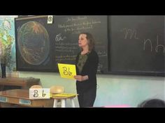 Waldorf ~ 1st grade ~ Handwriting ~ Vimala Alphabet ~ Letter B ~ video