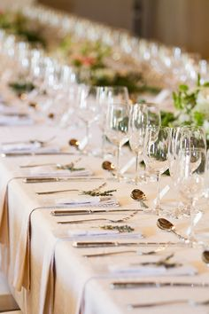sophisticated tablescape, photo by Dearheart Photos http://ruffledblog.com/south-african-spring-wedding #weddingideas #tablescapes #weddingreception