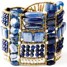 onyx bangl, anything blue, blue onyx