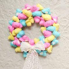 #peep #wreath!!  @Looksi Square  #triedandtrue