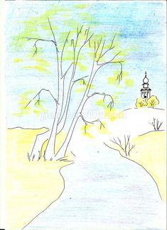Рисовать красками поэтапно для начинающих уроки живописи