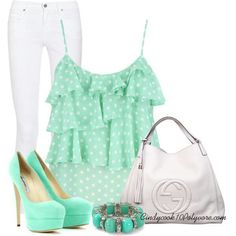 mint Clothes...something I wouldnt think of wearing unless I was fit and thin...attracts too much attention