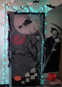 Halloween Time On Pinterest Halloween Door