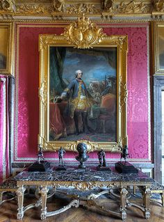 Salon de Mars, Louis XV, Versailles