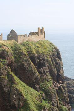 The surreal Dunnotar Castle ruins - Stonehaven, Scotland.