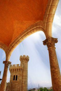 Palau de l'Almudaina, Palma de Mallorca, Spain