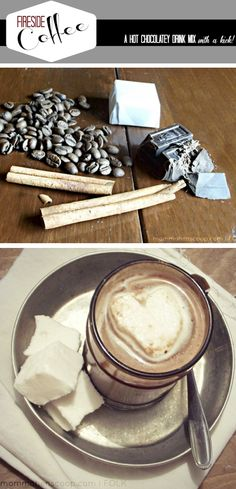 A chocolate, cinnamon nutmeg coffee to indulge in! This sounds so delish!