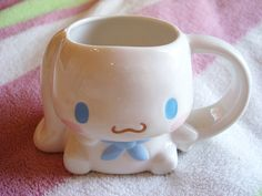 mini cinnamaroll mug ^__^ pastels, cups, goth, coffee, cinnamorol, kawaii japan, minis, thing, mugs