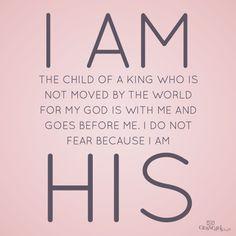 I am His!
