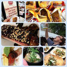 Atlanta Food & Wine Festival tasting tent + Frito pie recipe #afwf14 #fritos