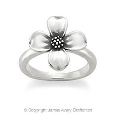 Dogwood Blossom Ring from James Avery