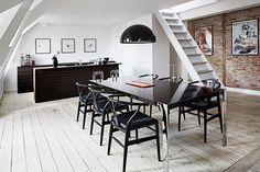 Køkkenet er et møbel i stuen