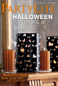 Shop The Halloween 2012 Catalog Here #PartyLite #Candles