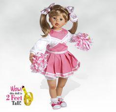 hello dolli, cheerlead doll