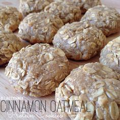 Protein Powder Cookies with Oats