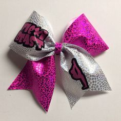 Hey, I found this really awesome Etsy listing at https://www.etsy.com/listing/175130711/flexi-beast-cheer-bow