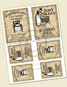 Altered Stuff: New Vintage/Primitive Style Labels