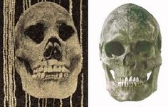 Comparing a Ohio mound builder skull with a Upper Paleolithic skull from Europe.
