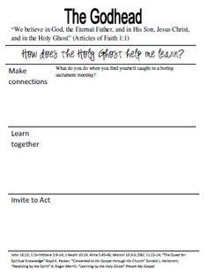 Youth Sunday School Workbook