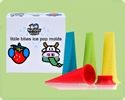 Little Bites Ice Pop Molds from KinderVille $16.99 - These ice pops are BPA free, non-leaching silicone, perfect for little hands. I like that it doesn't have any sticks, making it a little more mess free. #popsicles #popsiclemolds #popsiclemakers #icepops