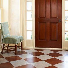 paint wood floor