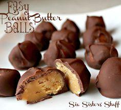 Easy Chocolate Peanut Butter Balls