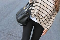 Casual stripes.