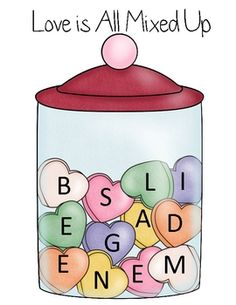 A Boggle-style game and includes a record sheet. This is a **free** sample of one of the MANY activities in my much larger Valentine's Day Swee...