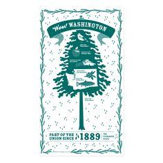 Washington State Towel