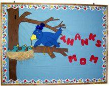 Bird in Tree with Nest