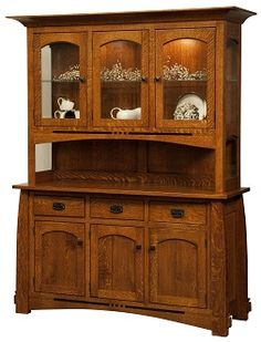 American bungalow collection colebrook three door hutch for American bungalow collection