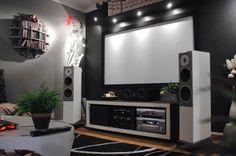 SMALL HOME THEATER ROOM | Interior design ideas