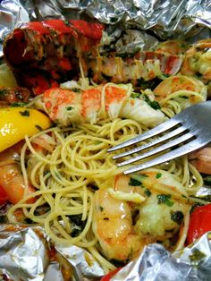 Grilled Shrimp and Lobster Gremolata - Proud Italian Cook