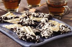 Chocolate-Dipped Matzah Recipe for Passover