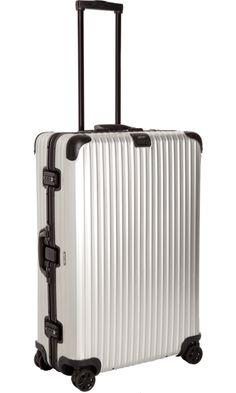 "Holiday Travel Essentials: RIMOWA  Aluminum Stealth 32"" Multiwheel®"