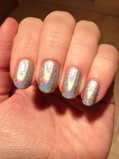 Jessica foil effect nail polish