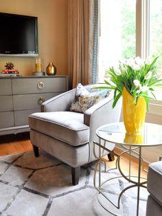 Soft Green Bedroom With Mission Style Furniture : Designers' Portfolio : HGTV - Home & Garden Television