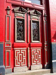 Pub Door, Portobello Road, London