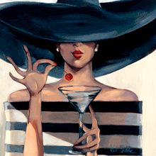 :: Trish Biddle Fine Art :: Cosmo Girl :: Glamorous Women in Fabulous Places ::