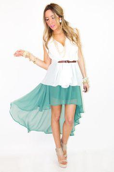 Hi/Low skirt