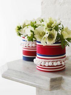 Sweet Paul's Vintage Ribbon Vases