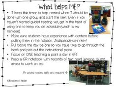 Helpful Tips: Guided Reading