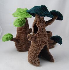 Crochet Pattern - Fairy Hideaway
